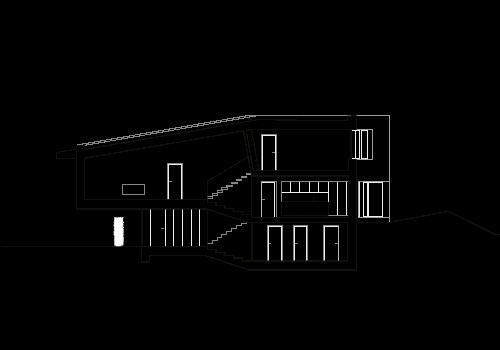 kit einfamilienhaus in der march split level. Black Bedroom Furniture Sets. Home Design Ideas